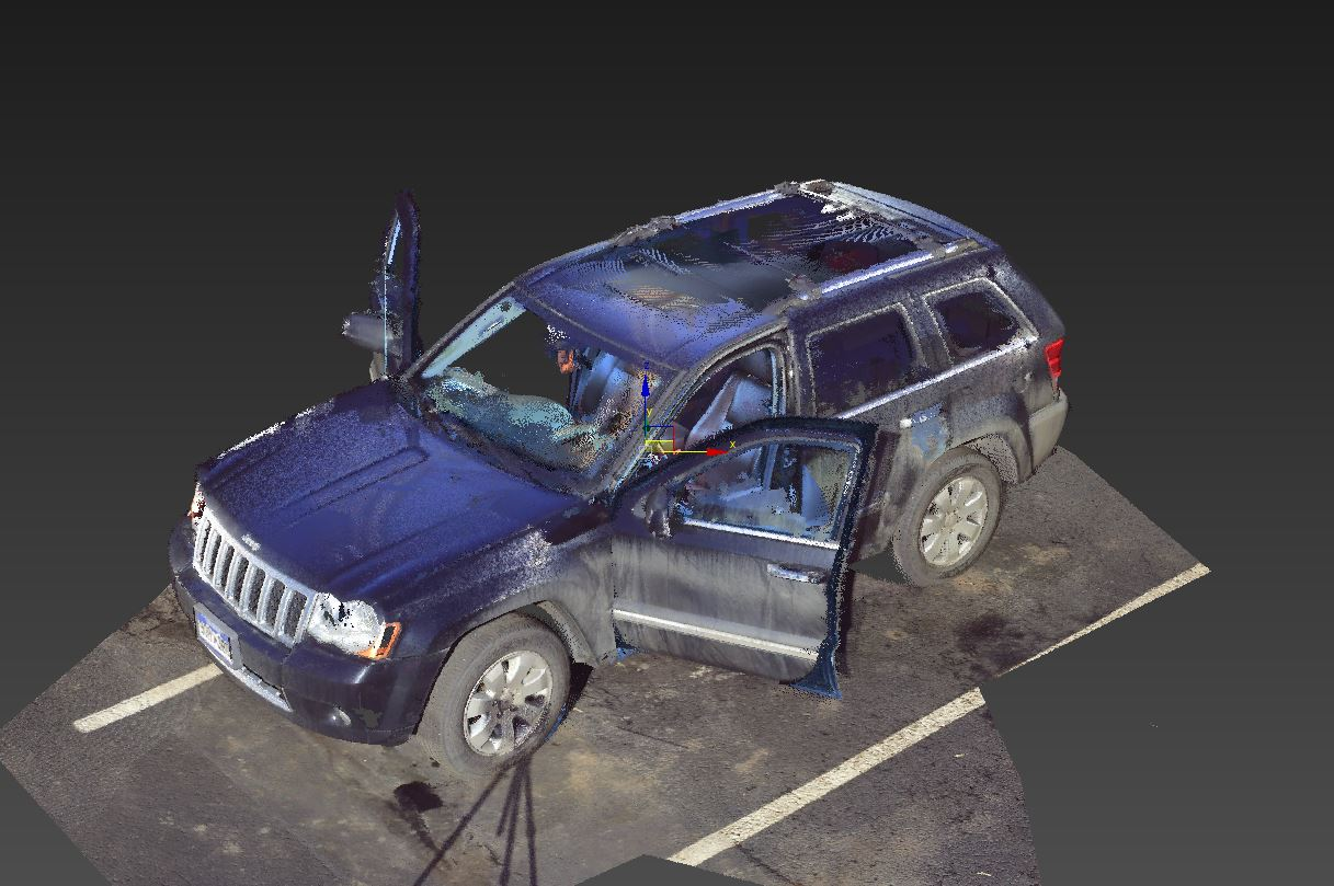 Looking for scanners to scan vehicle interiors - Laser